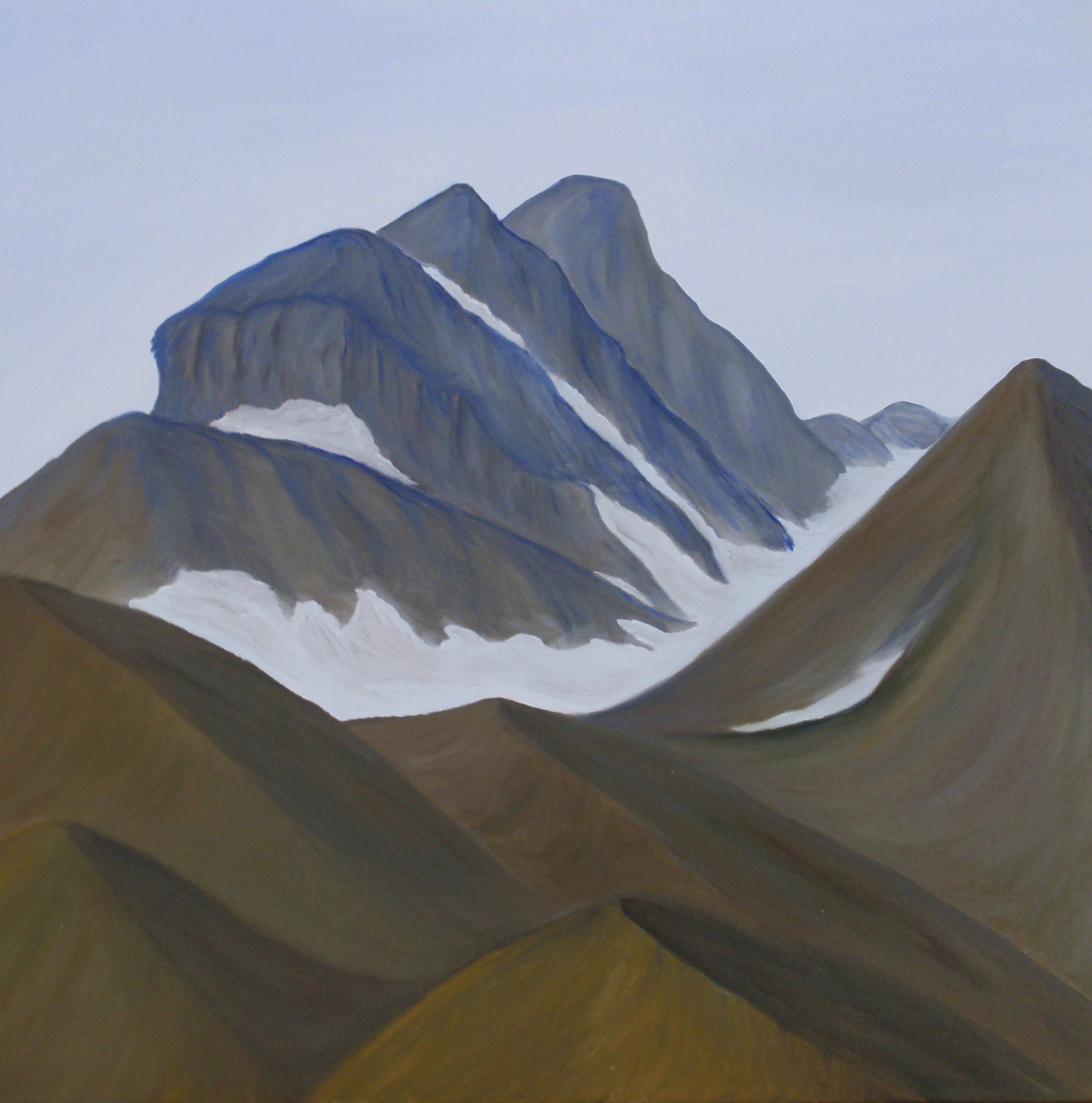 Danyel Dean | Paintings | Santa Barbara, California | Smithers, British Columbia | Brian Boru Range