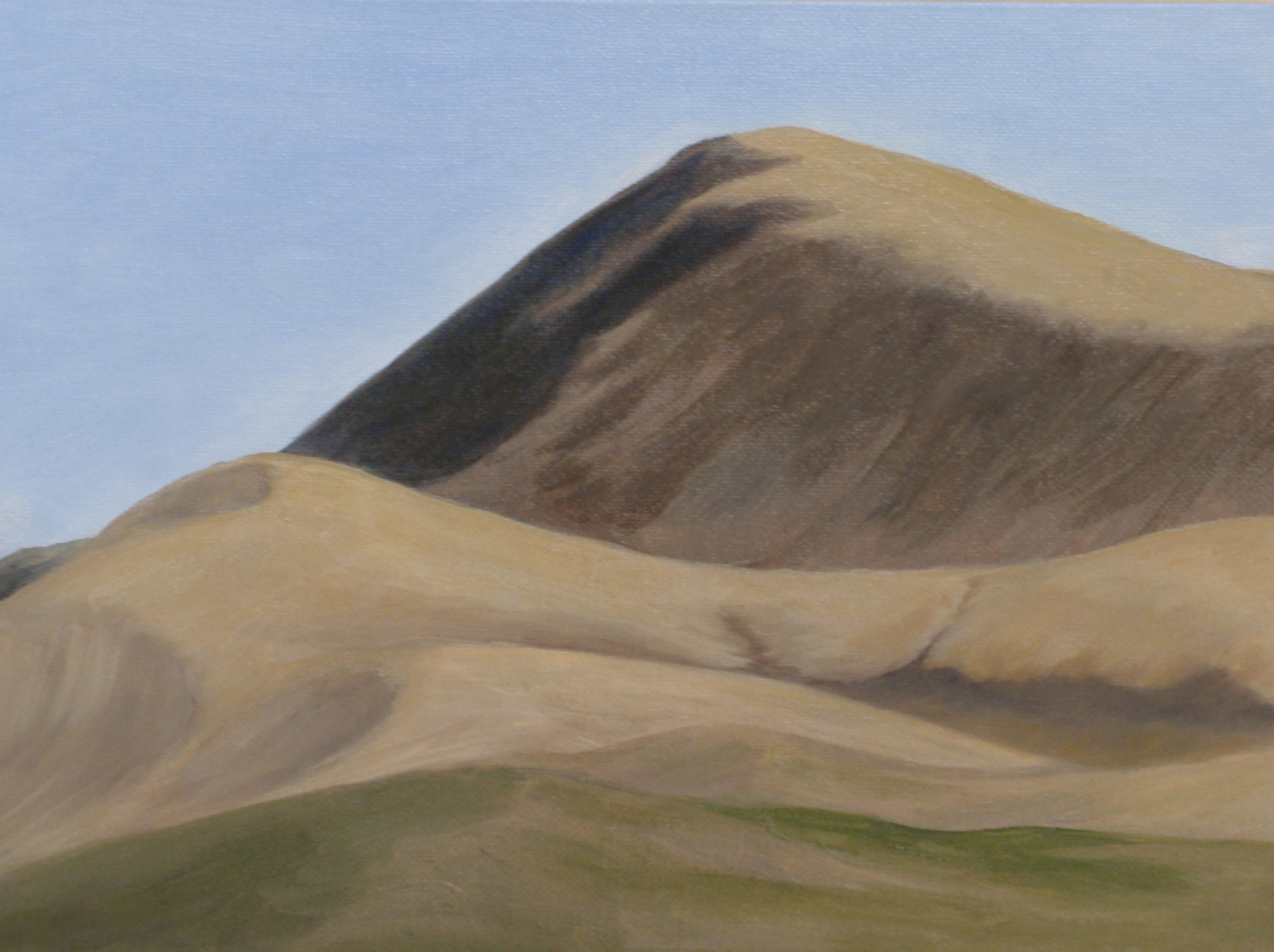 Danyel Dean | Paintings | Santa Barbara, California | Smithers, British Columbia | Hills on 395