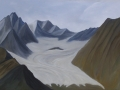 Danyel Dean | Paintings | Santa Barbara, California | Smithers, British Columbia  | Hudson Bay Glacier